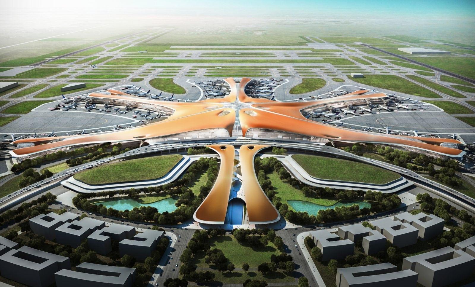 Cel mai mare terminal din lume este proiectat de Zaha Hadid