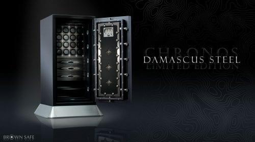Damascus Edition Chronos Safe – seif cu adevărat exclusivist