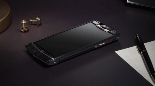 Vertu Signature Touch Pure Jet Red Gold  smartphone de 19.500 euro