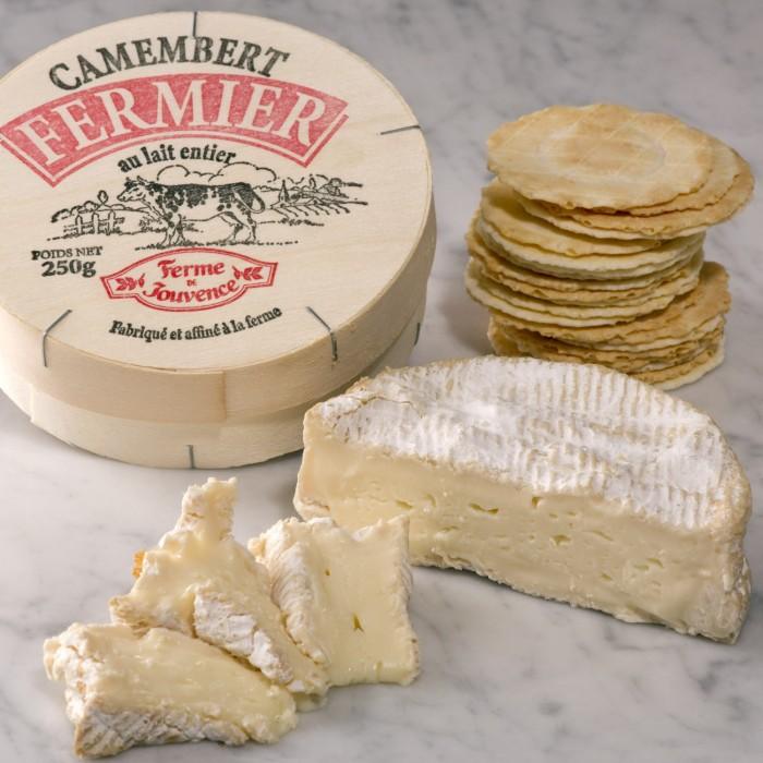 camembert artisan au lait cru 700x700 - Brie și Camembert  sau recunoștința ca liant în gastronomie