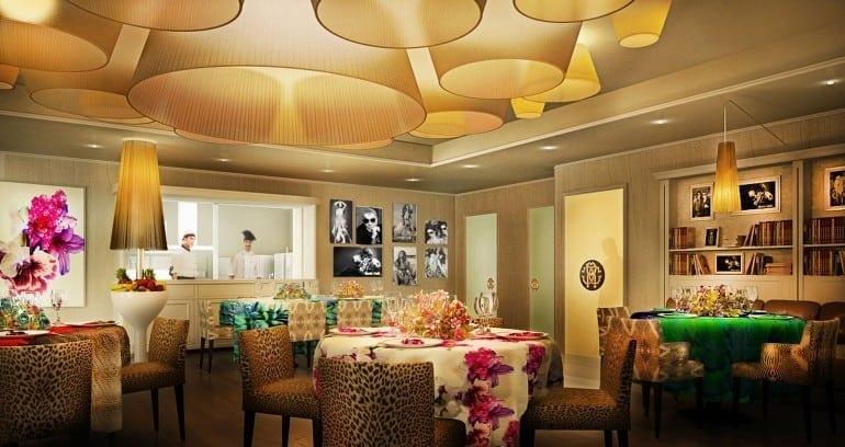 Cavalli Miami Restaurant 770x408 - Designers' restaurants