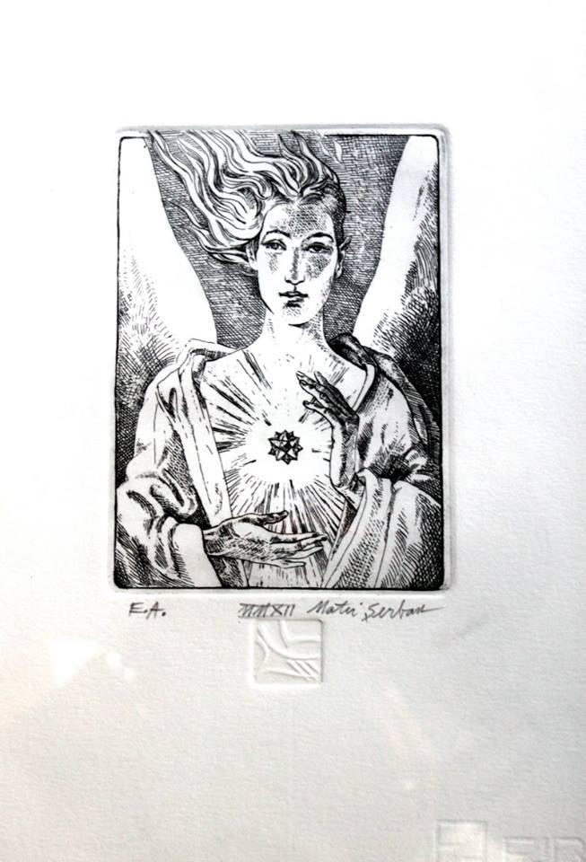 MATEI SERBAN 1 - ArtXpert București prezintă: Affordable Art Sale