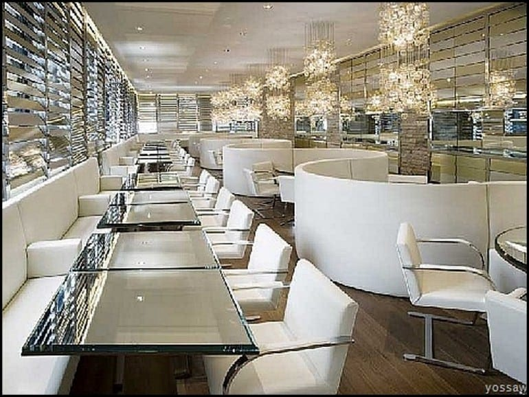 golden obsession2 770x578 - Designers' restaurants