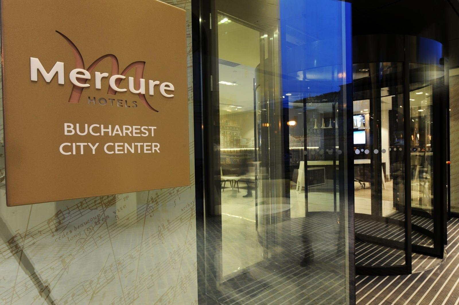 Mercure Bucharest City Center Entrance - S-a deschis primul hotel Mercure din România