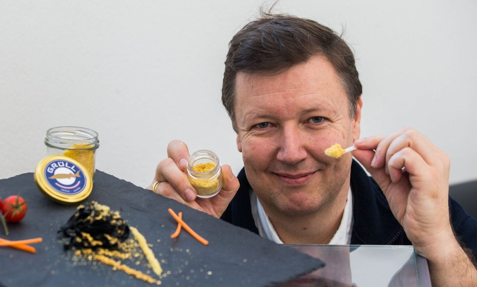 Worlds Most Expensive Food Product - Dried Albino Caviar