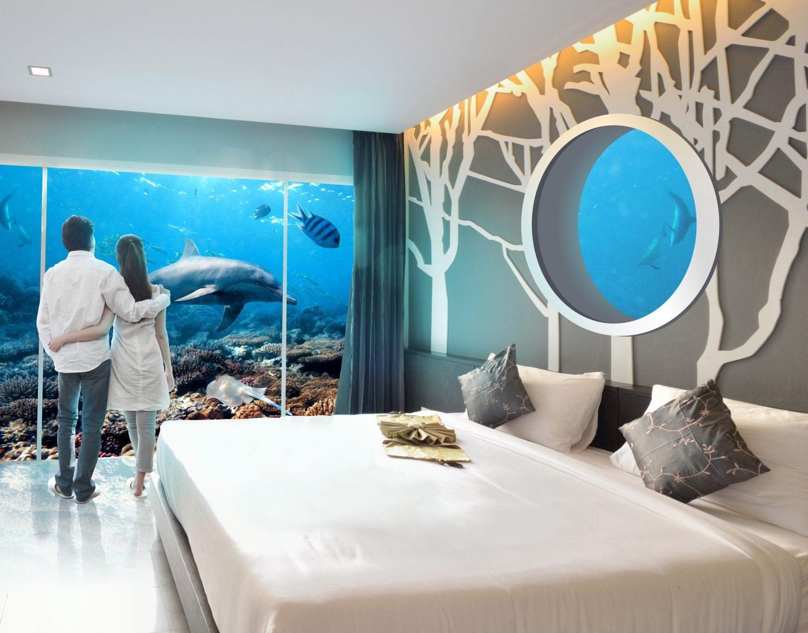 underwater hotel high - Vilele subacvatice – un nou proiect în Dubai