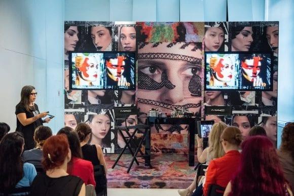 MAC Cosmetics a prezentat tendințele în machiaj  pentru sezonul toamnă-iarnă 2015