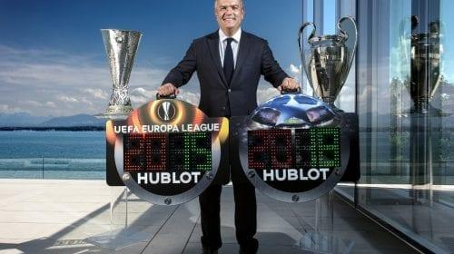 Hublot este partener orologer oficial al UEFA Champions League™