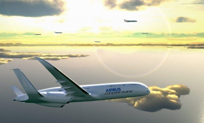 Un pas în viitor – Airbus Concept Plane