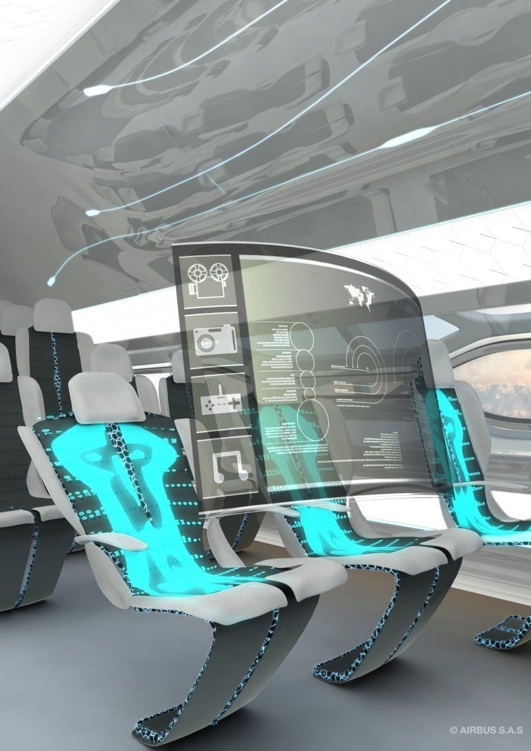 The future by Airbus   Smart Tech Zone 2 770x1089 - Un pas în viitor - Airbus Concept Plane