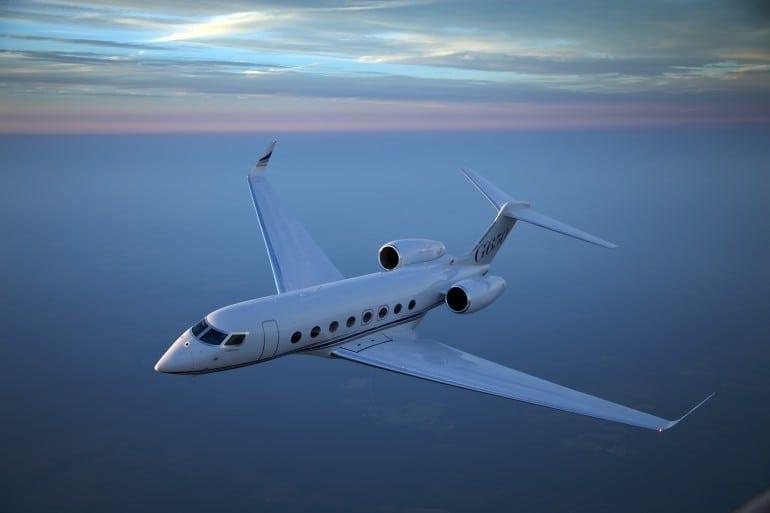 G650 Image 770x513 - Gulfstream - Singur deasupra norilor