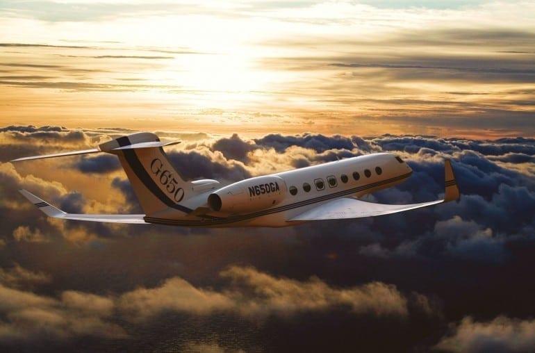 Gulfstream G650 21 770x508 - Gulfstream - Singur deasupra norilor