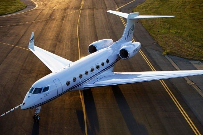 Gulfstream G650 MOST EXPENSIVE JETS 5 770x512 - Gulfstream - Singur deasupra norilor