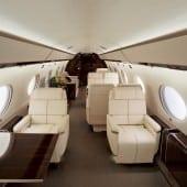 cabin interior gulfstream g650 170x170 - Gulfstream - Singur deasupra norilor