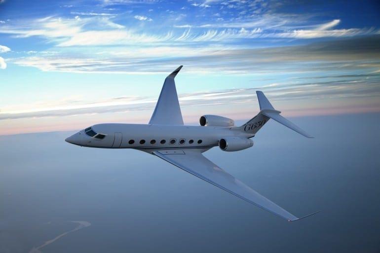 d g650 a media 059 770x513 - Gulfstream - Singur deasupra norilor