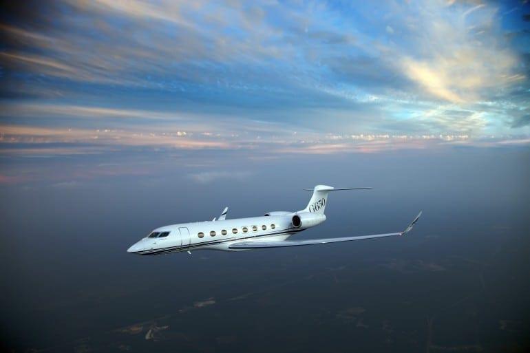 g650 a media 047 770x513 - Gulfstream - Singur deasupra norilor