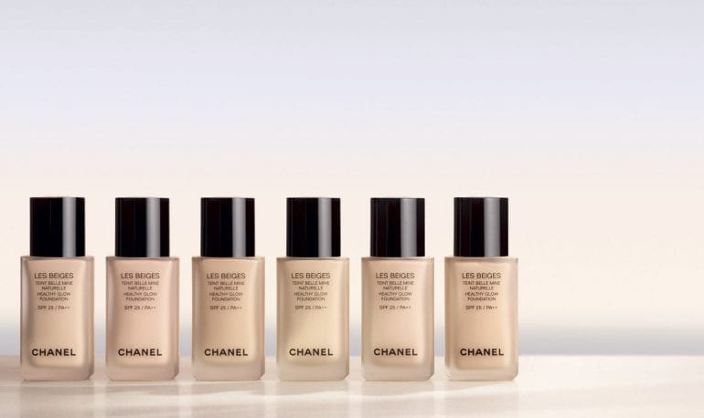 CHANEL LES BEIGES6 770x458 - Les Beiges by Chanel - Healthy Glow Foundation