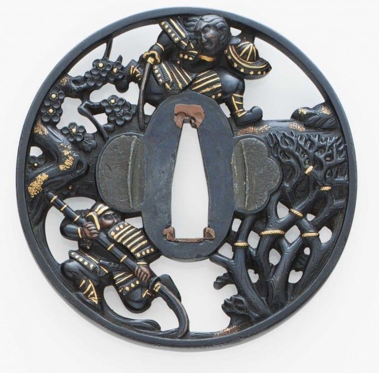 shakudo2 770x758 - În contrast de sclipiri: tezaurul nipon al aliajelor