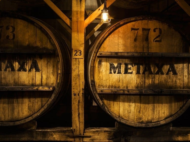 The House of Metaxa - The dark of the Cellars