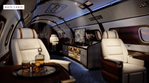 Lineage 1000E – Skyacht One Executive Jet