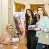 """geanina ilies mihaela calin autografe giulia nahmany 170x170 - Giulia Nahmany a lansat cartea """"Merg mai departe - mai puternică, mai sănătoasă, mai fericită"""""""