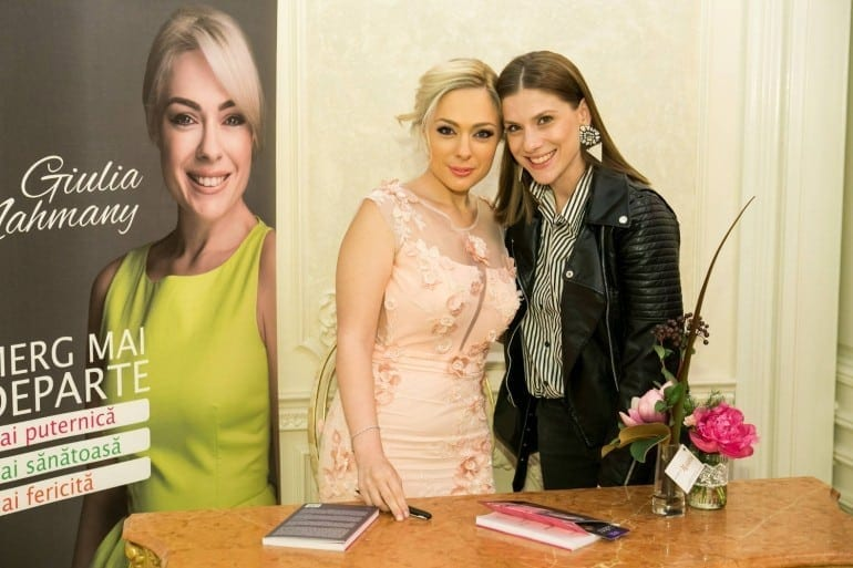 """tily niculae giulia nahmany 3 770x513 - Giulia Nahmany a lansat cartea """"Merg mai departe - mai puternică, mai sănătoasă, mai fericită"""""""