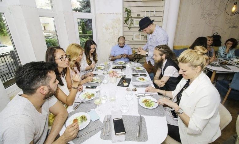 Media Lunch la NORMA Fine Dining cu chef Sidia Sissoko