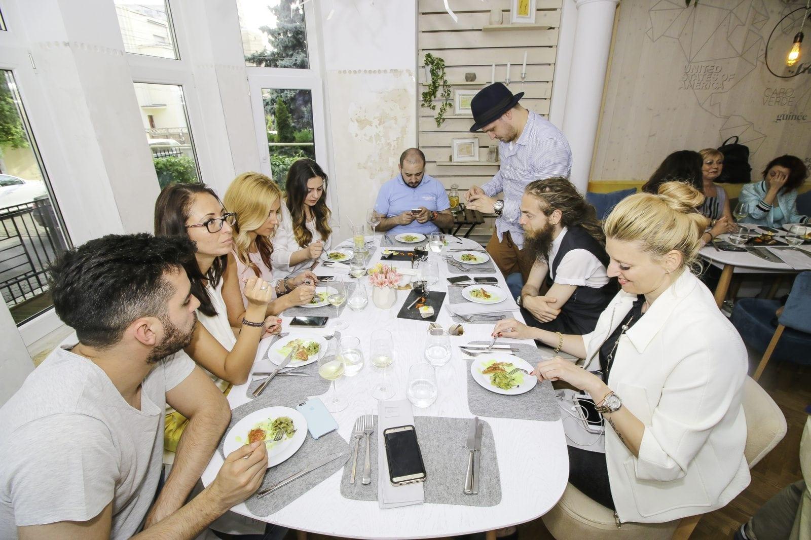 zlrized 3776 - Media Lunch la NORMA Fine Dining cu chef Sidia Sissoko