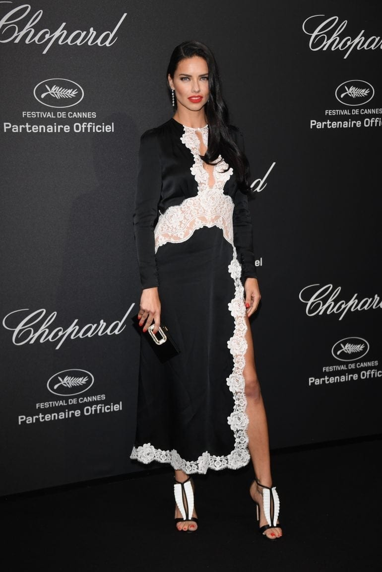Adriana Lima in Chopard 8892 770x1152 - Chopard WILD Party, cu Diana Ross și Mark Ronson