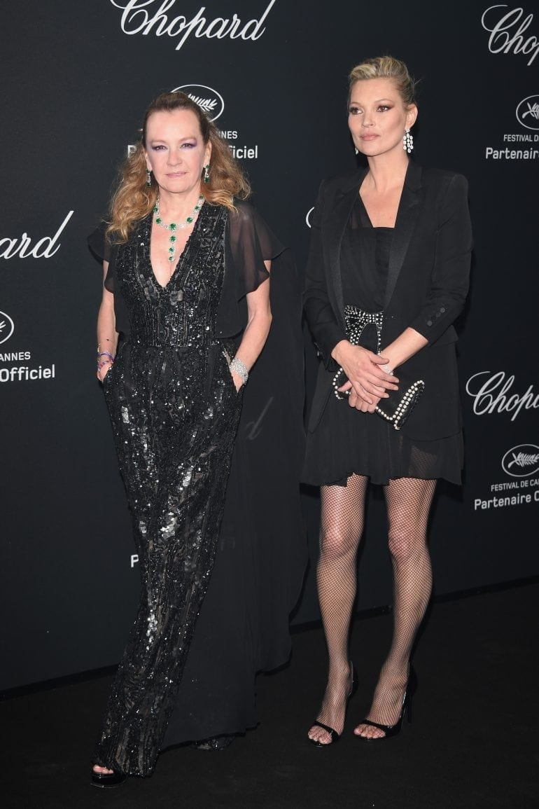 Caroline Scheufele and Kate Moss in Chopard 8905 770x1155 - Chopard WILD Party, cu Diana Ross și Mark Ronson