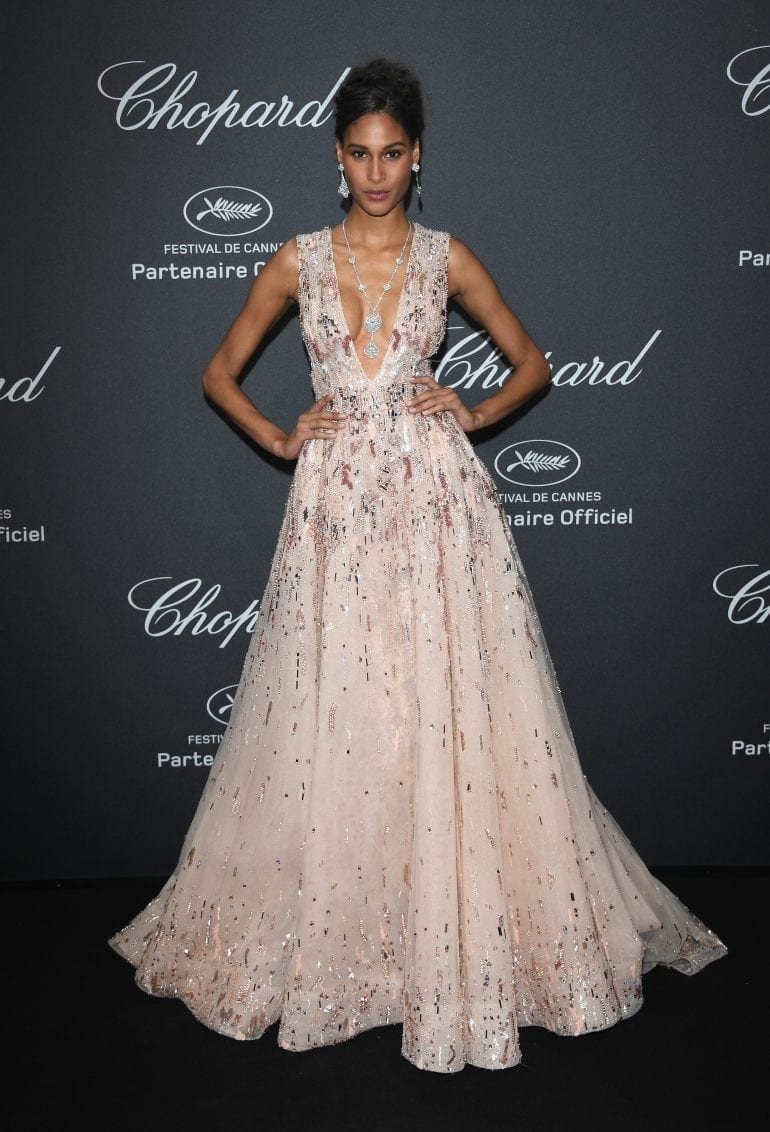 Cindy Bruna in Chopard 8907 770x1132 - Chopard WILD Party, cu Diana Ross și Mark Ronson