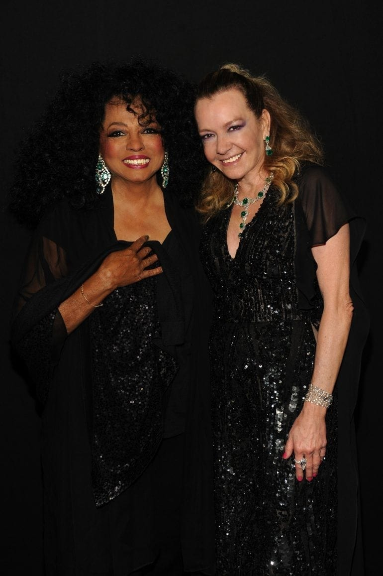 Diana Ross and Caroline Scheufele 8915 770x1157 - Chopard WILD Party, cu Diana Ross și Mark Ronson