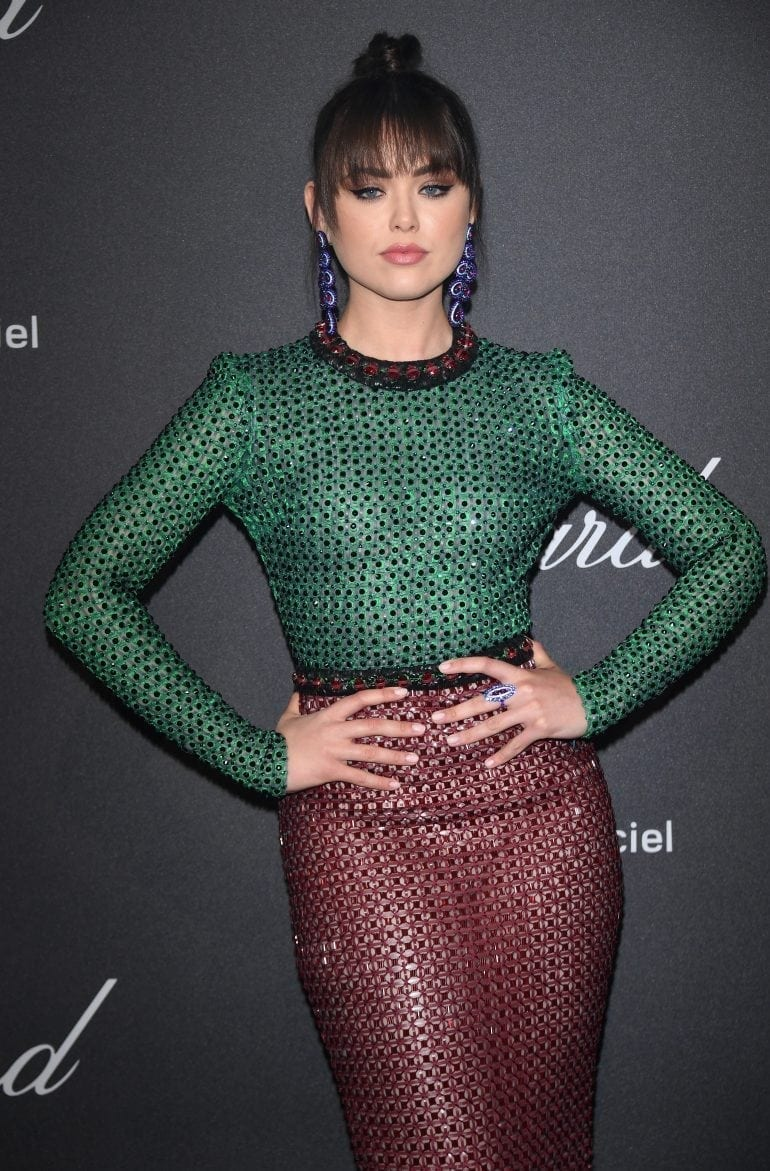 Kristina Bazan in Chopard 8908 770x1171 - Chopard WILD Party, cu Diana Ross și Mark Ronson
