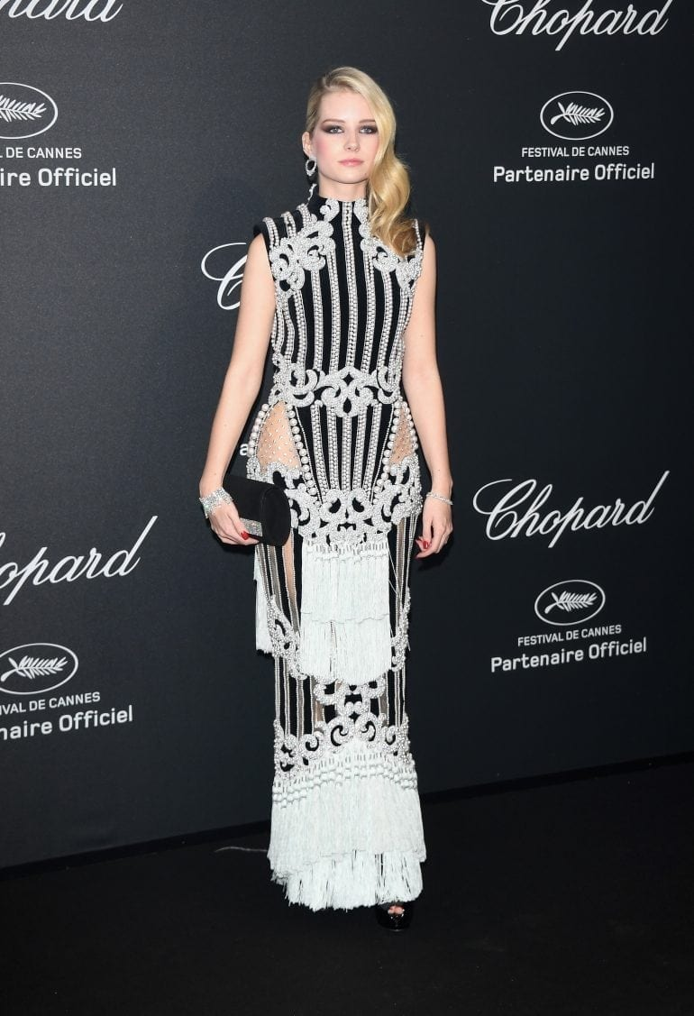 Lottie Moss in Chopard 8909 770x1127 - Chopard WILD Party, cu Diana Ross și Mark Ronson