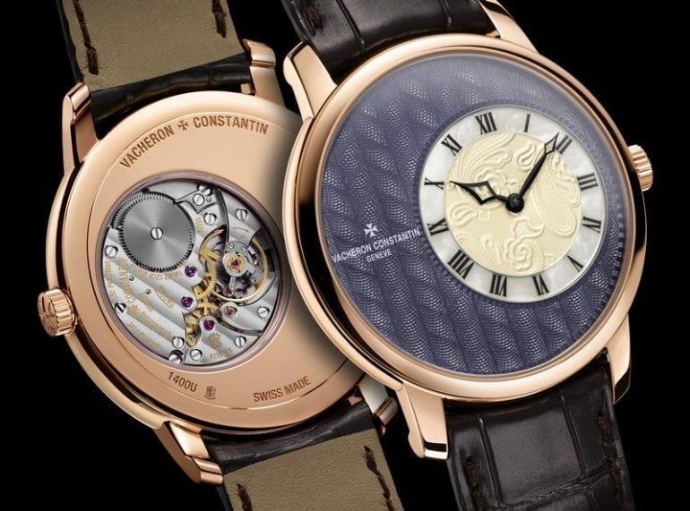 Métiers d'Art Elégance Sartoriale watch by Vacheron Constantin 2016 5 model 770x571 - Vacheron Constantin - Métiers d'Art Elégance Sartoriale