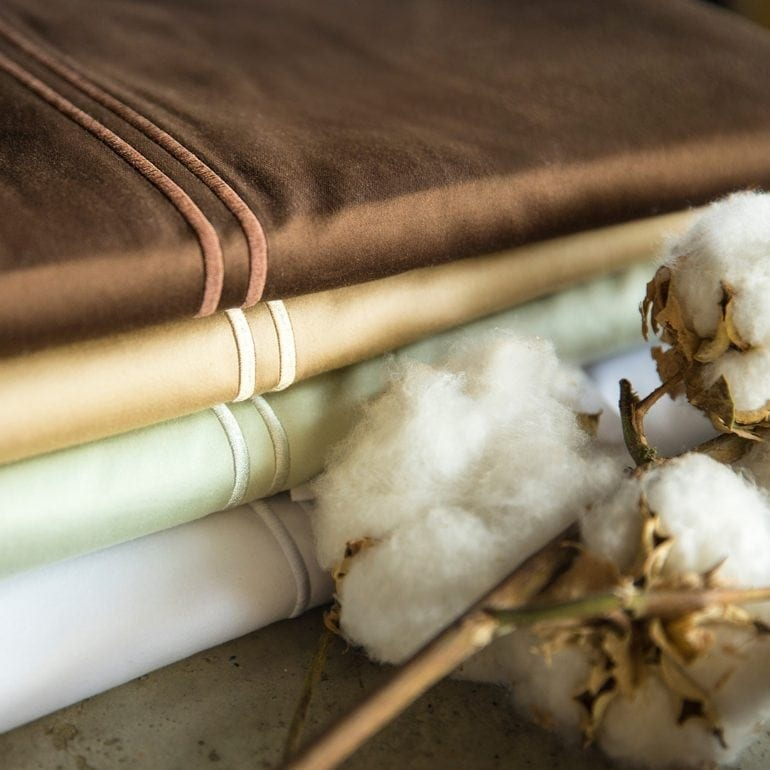 Malouf 400 Thread Count Egyptian Cotton Sheet Set MALF1054 770x770 - Bumbacul egiptean - Celălalt tezaur al Văii Nilului