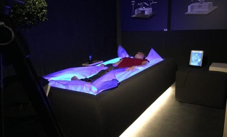 Zerobody – o piscină uscată sau un pat antigravitațional