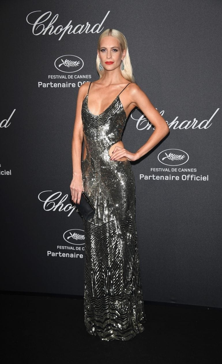 Poppy Delevingne in Chopard 8912 770x1261 - Chopard WILD Party, cu Diana Ross și Mark Ronson