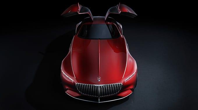 02 Mercedes Benz Design Vision Mercedes Maybach 6 680x379 1 - Vision Mercedes-Maybach 6
