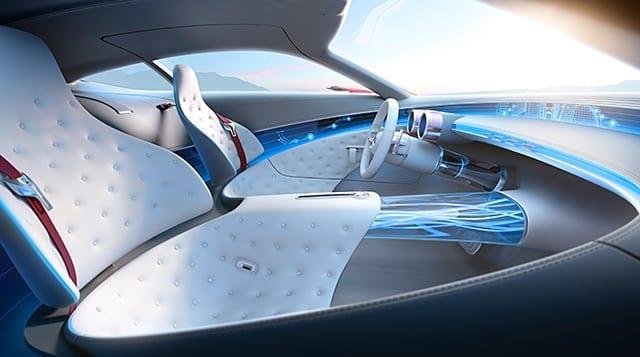06 Mercedes Benz Design Vision Mercedes Maybach 6 Interior 640x357 1 - Vision Mercedes-Maybach 6