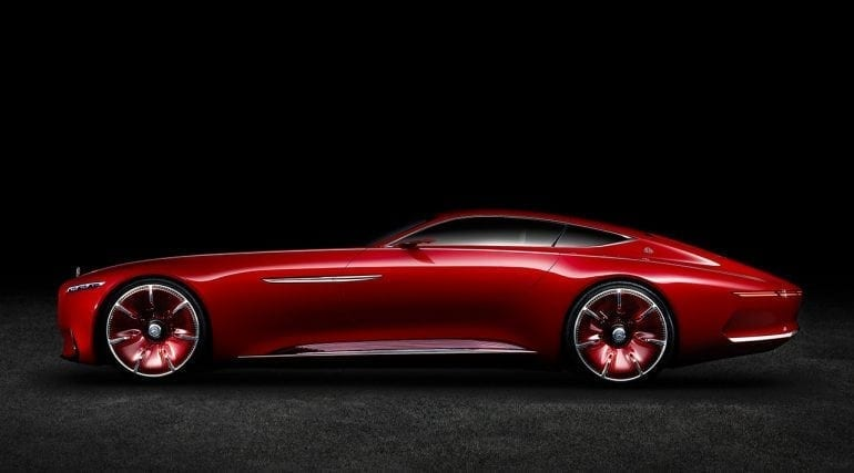10 Mercedes Benz Design Vision Mercedes Maybach 6 1280x710 1280x710 1 770x427 - Vision Mercedes-Maybach 6