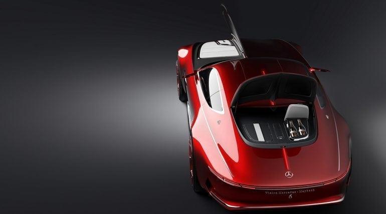 13 Mercedes Benz Design Vision Mercedes Maybach 6 1280x710 1280x710 1 770x427 - Vision Mercedes-Maybach 6