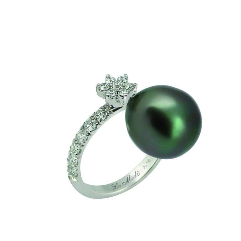 Anello perla e brillanti2