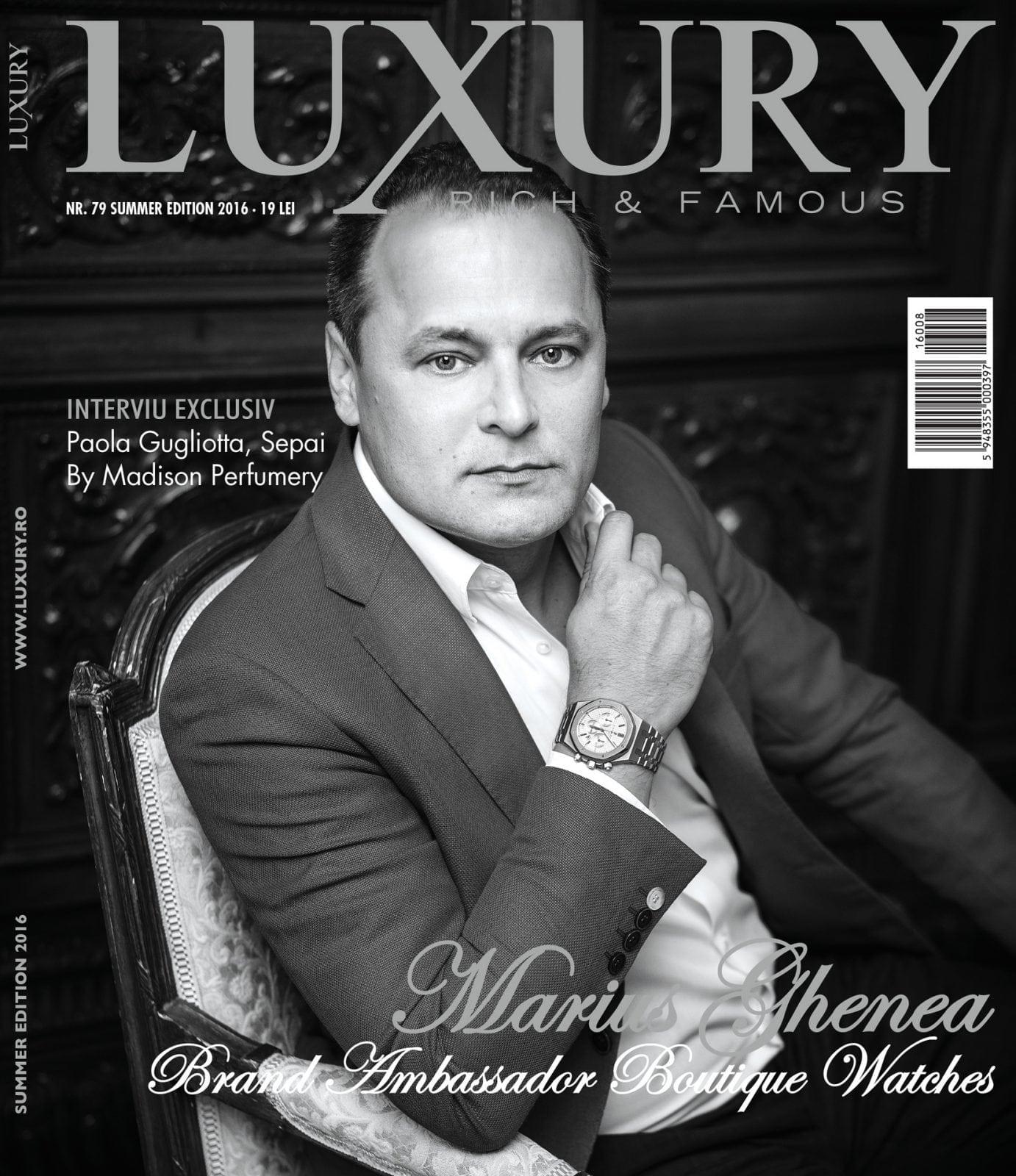 Coperta Luxury 79 fin RGB - LUXURY Nr. 79 | Summer edition 2016