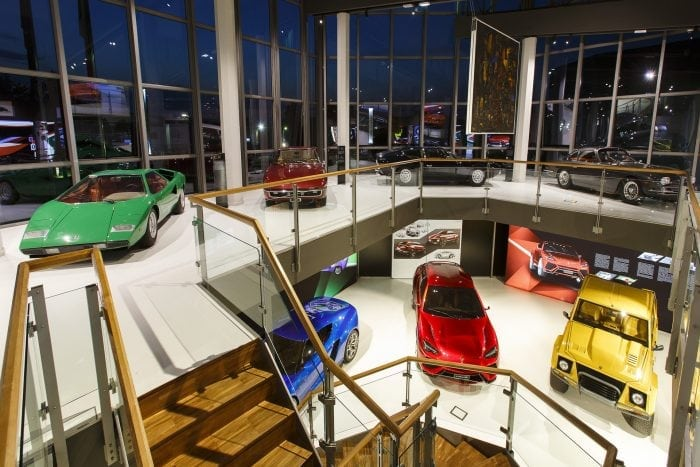 Automobili Lamborghini a inaugurat noul muzeu