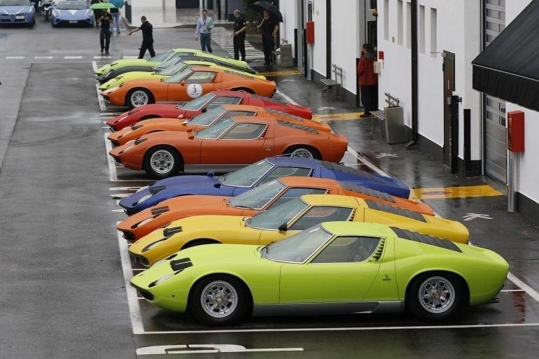 Miura Tour la inaugurarea muzeului 770x513 - Automobili Lamborghini a inaugurat noul muzeu