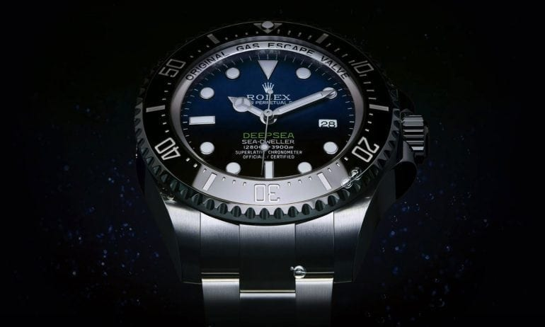 Rolex-Deepsea-D-Blue-dial-angle