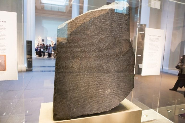 Rosetta Stone Marius Paun 770x513 - Londra mea, iubirea mea