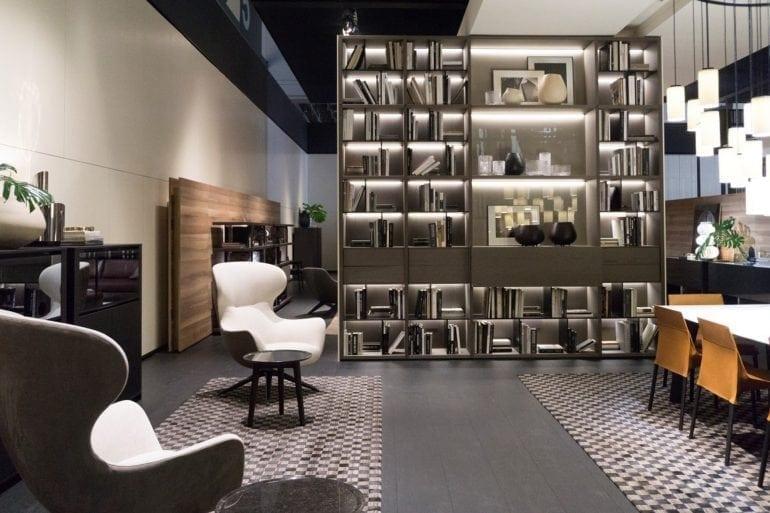 Standul Poliform 3 770x513 - Mobilier de lux la iSaloni Milano 2016 - prin Delta Studio