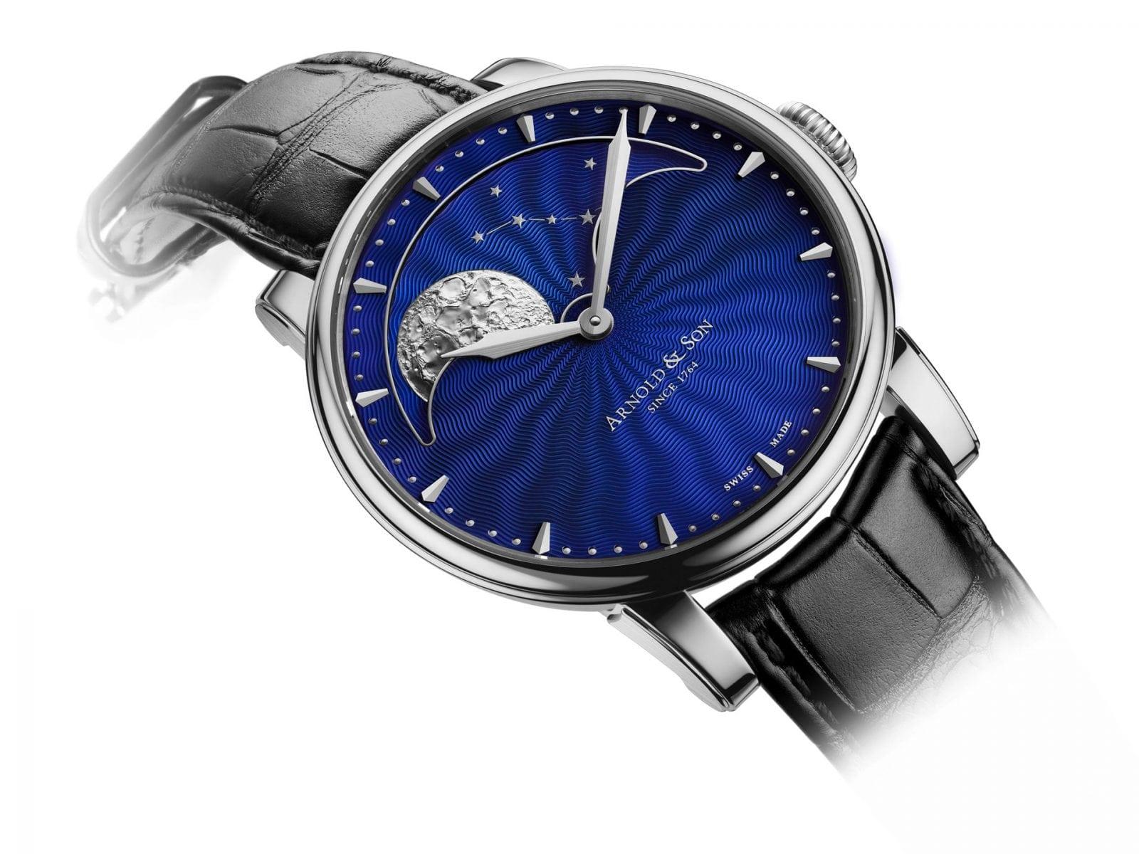 hm perpetual moon st blue emotion - Gravura - ca ultimă faţetă a eleganţei unui ceas